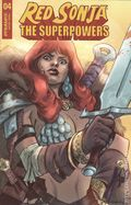 Red Sonja The Superpowers (2021 Dynamite) 4G