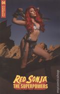 Red Sonja The Superpowers (2021 Dynamite) 4H