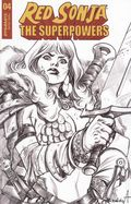 Red Sonja The Superpowers (2021 Dynamite) 4V