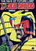 Judge Dredd Annual HC (1981-1990 UK) 1987-1ST