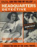 Headquarters Detective (1940) True Crime Magazine Vol. 12 #4
