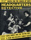 Headquarters Detective (1940) True Crime Magazine Vol. 12 #6