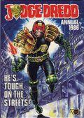 Judge Dredd Annual HC (1981-1990 UK) 1986-1ST