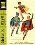 McCalls Batman Robin And Superman Costumes (1966) 1966