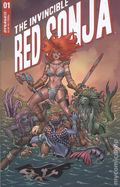 Invincible Red Sonja (2021 Dynamite) 1A