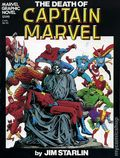 Death of Captain Marvel GN (1982 Marvel) 1-1ST