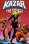 Ka-Zar The Savage Omnibus HC (2021 Marvel) 1A-1ST