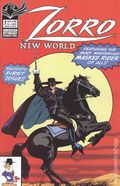 Zorro New World (2021 American Mythology) 1A