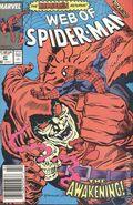 Web of Spider-Man (1985 1st Series) Mark Jewelers 47MJ