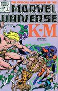 Official Handbook of the Marvel Universe (1983-1984 Marvel) 6