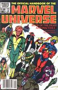 Official Handbook of the Marvel Universe (1983-1984 Marvel) 13