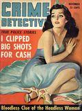 Crime Detective (1938-1953 1st Series) True Crime Magazine Nov 1942