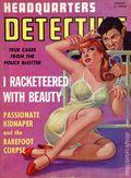 Headquarters Detective (1940) True Crime Magazine Vol. 3 #2