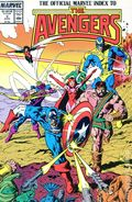 Official Marvel Index to the Avengers (1987) 2