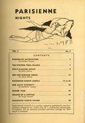 Parisienne Nights (1930-1933) Magazine Vol. 2 #3