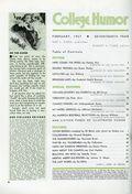 College Humor (1934-1943 Dell Publishing Co) Vol. 4 #2