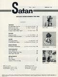 Satan (1957 Stanley Publications) Magazine Vol. 1 #1
