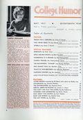 College Humor (1934-1943 Dell Publishing Co) Vol. 5 #1