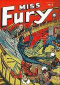 Miss Fury Comics (1942) 1