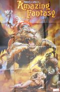Amazing Fantasy Poster (2021 Marvel) by Kaare Andrews ITEM#1