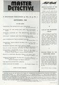 Master Detective (1929) True Crime Magazine Vol. 23 #1