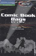 Comic Bags: Current Resealable BCW 100pk Polypropylene
