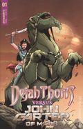 Dejah Thoris vs. John Carter of Mars (2021 Dynamite) 1C