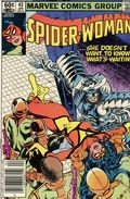 Spider-Woman (1978-1983 1st Series) Mark Jewelers 43MJ