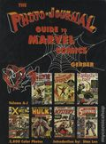 Photo Journal Guide to Marvel Comics HC (1991 Gerber) 3-1ST