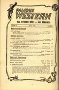 Famous Western (1937-1960 Columbia Publications) Pulp Vol. 17 #2