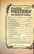 Famous Western (1937-1960 Columbia Publications) Pulp Vol. 12 #3