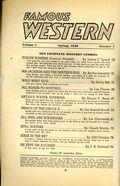 Famous Western (1937-1960 Columbia Publications) Pulp Vol. 7 #5