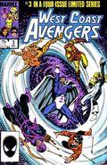 West Coast Avengers (1984 Limited Series) Mark Jewelers 3MJ