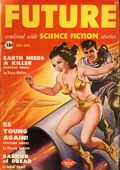 Future Combined with Science Fiction (1950-1951 Columbia Publications) Pulp 2nd Series Vol. 1 #2