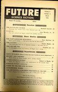 Future Science Fiction (1952-1960 Columbia Publications) Pulp Vol. 4 #6