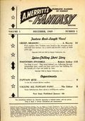 A. Merritt's Fantasy Magazine (1949-1950 Recreational Reading) Pulp Vol. 1 #1