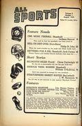 All Sports Magazine (1939-1951 Columbia Publications) Pulp Vol. 5 #1