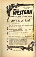 Real Western (1935-1960 Columbia Publications) Pulp Vol. 15 #2