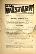 Real Western (1935-1960 Columbia Publications) Pulp Vol. 13 #4