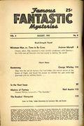 Famous Fantastic Mysteries (1939-1953 Frank A. Munsey/Popular/Altus) Pulp Aug 1947