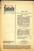 Famous Fantastic Mysteries (1939-1953 Frank A. Munsey/Popular/Altus) Pulp Jul 1951
