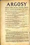 Argosy Part 4: Argosy Weekly (1929-1943 William T. Dewart) Dec 28 1940