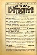 Big Book Detective Magazine (1941-1943 Fictioneers) Big-Book Detective Pulp Vol. 1 #1