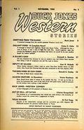Buck Jones Western Stories (1936-1937 Dell) Pulp Vol. 1 #1