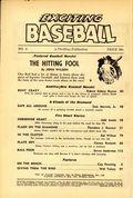 Exciting Baseball (1949-1953 Standard Magazines) Pulp Vol. 1 #4