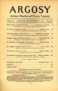 Argosy Part 4: Argosy Weekly (1929-1943 William T. Dewart) Sep 11 1937