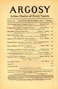 Argosy Part 4: Argosy Weekly (1929-1943 William T. Dewart) Oct 2 1937