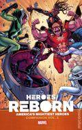Heroes Reborn America's Mightiest Heroes Companion TPB (2021 Marvel) 1-1ST