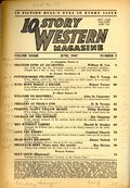10 Story Western Magazine (1936-1954 Popular) Pulp Vol. 33 #3