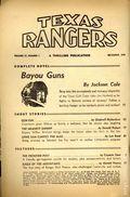 Texas Rangers (1936-1958 Standard) Pulp Vol. 37 #1